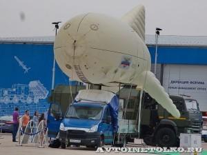 Малоразмерный мобильный аэростатный комплекс Проект МАКС ОАО Концерн радиостроения Вега на выставке Оборонэкспо форума ТВМ 2014 - 7306