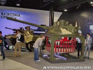 Боевой модуль Бахча-У Тульского ОАО КБП на выставке Оборонэкспо форума ТВМ 2014 - 7338