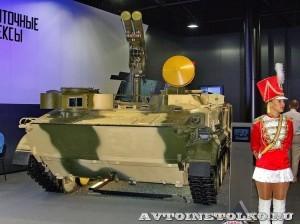 машина командира 9П157-3 противотанкового ракетного комплекса Хризантема-С ОАО НПО КБМ на выставке Оборонэкспо форума ТВМ 2014 - 7371