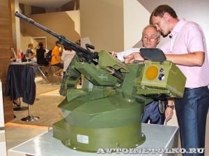 пулеметная установка 6С21 Уралвагонзавод на выставке Оборонэкспо форума ТВМ 2014 - 7481