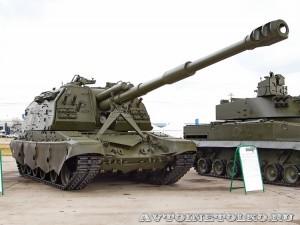 Самоходная 152-мм гаубица 2С19М2 Мста-С на выставке Оборонэкспо форума ТВМ 2014 - 7677