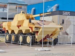 БМП Атом Уралвагонзавод на выставке Оборонэкспо форума ТВМ 2014 - 7961