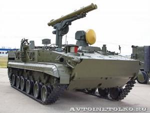 машина 9П157 противотанкового ракетного комплекса Хризантема-С на выставке Оборонэкспо форума ТВМ 2014 - 8155