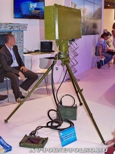 переносная радиолокационная станция 1Л277 Алмаз-Антей на выставке Оборонэкспо форума ТВМ 2014 - 8306
