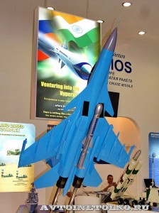 крылатая ракета BrahMos 1600-CK310A на выставке Оборонэкспо форума ТВМ 2014 - 8361