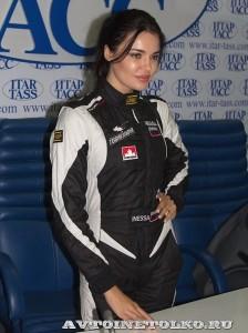 Инесса Тушканова на пресс-конференции вто-авиа шоу Форсаж 2014 - 5