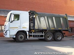 Самосвал Бецема Истра на шасси Hyundai Xcient 6x4 - 4353