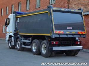 Самосвал Бецема Формат на шасси Hyundai Xcient 8x4 - 4358