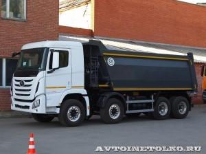 Самосвал Бецема Формат на шасси Hyundai Xcient 8x4 - 4379