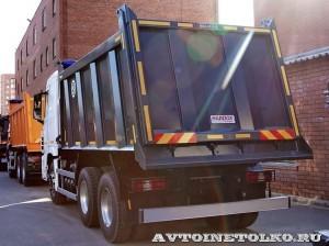 Самосвал Бецема Истра на шасси Hyundai Xcient 6x4 - 4455