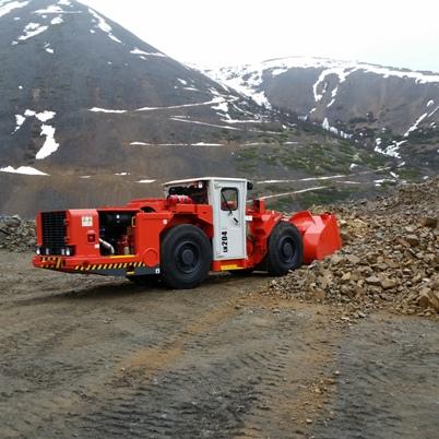 погрузочно-доставочная машина Sandvik LH 204 первая поставка в России и СНГ polymetall_1