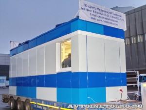 модуль медицинского здания ГК Центр Медицинских Технологий на выставке Здравоохранение 2014  img_6745
