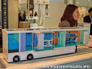 Модель Мобильного комплекса компьютерной томографии (КТ) НПО Мобильные Клиники а выставке Здравоохранение 2014 img_6763