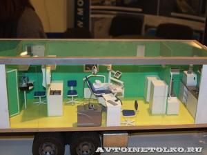 Модель стоматологического комплекса на шасси грузового автомобиля НПО Мобильные Клиники на выставке Здравоохранение 2014 leokuznetsoff_img_6766