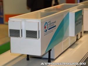 Модель Мобильного комплекса компьютерной томографии (КТ) НПО Мобильные Клиники а выставке Здравоохранение 2014 img_6767