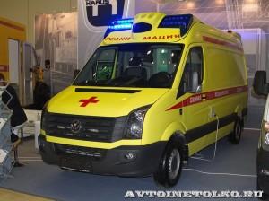 Реанимобиль класса С на базе Volkswagen Crafter KARUS на выставке Здравоохранение 2014 img_6773
