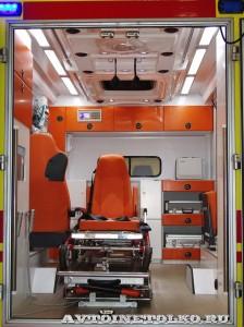 Модульный реанимобиль ГАЗель NEXT Промышленные Технологии на выставке Здравоохранение 2014 img_6792