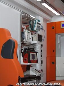 Модульный реанимобиль ГАЗель NEXT Промышленные Технологии на выставке Здравоохранение 2014 img_6793
