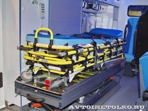 автомобиль скорой помощи класс В на базе Ford Transit  Промышленные Технологии на выставке Здравоохранение 2014 img_6807