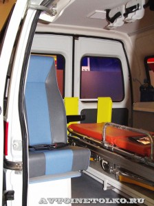 автомобиль скорой помощи класс А на базе Citroen Jumpy Промышленные Технологии на выставке Здравоохранение 2014 img_6810