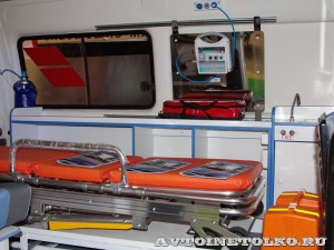 автомобиль скорой помощи класс А на базе Citroen Jumpy Промышленные Технологии на выставке Здравоохранение 2014 img_6812