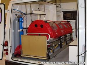 автомобиль скорой помощи класс В на базе УАЗ-39623 ООО Автодом на выставке Здравоохранение 2014 img_6823