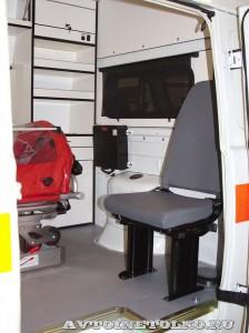 автомобиль скорой помощи класс В на базе УАЗ-39623 ООО Автодом на выставке Здравоохранение 2014 img_6828