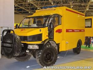 Автомобиль скорой помощи на базе SILANT KARUS на выставке Здравоохранение 2014 img_6853