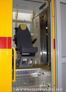 Автомобиль скорой помощи на базе SILANT KARUS на выставке Здравоохранение 2014 img_6859