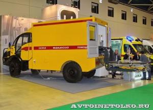 Автомобиль скорой помощи на базе SILANT KARUS на выставке Здравоохранение 2014 img_6874