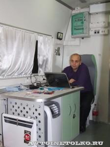 мобильный рентгенологический комплекс на базе Citroen Jumper ЗАО Радиан на выставке Здравоохранение 2014 img_6896