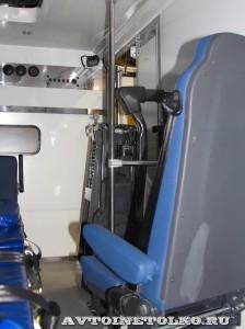 Модульный автомобиль скорой помощи для инвалидов Промышленные Технологии на выставке Здравоохранение 2014 img_6916