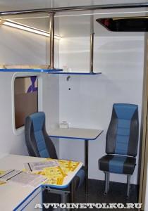 Мобильный пункт здоровья на базе ГАЗель NEXT Промышленные Технологии на выставке Здравоохранение 2014 img_6925