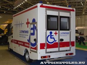 Модульный автомобиль скорой помощи для инвалидов Промышленные Технологии на выставке Здравоохранение 2014 img_7052