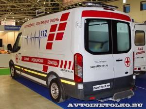 автомобиль скорой помощи класс В на базе Ford Transit  Промышленные Технологии на выставке Здравоохранение 2014 img_7064