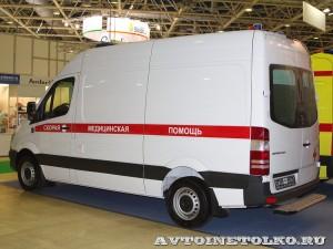 автомобиль скорой помощи класс В на базе Mercedes-Benz Sprinter KARUS на выставке Здравоохранение 2014 img_7070