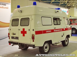 автомобиль скорой помощи класс В на базе УАЗ-39623 ООО Автодом на выставке Здравоохранение 2014 img_7087