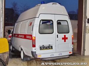 Автомобиль скорой помощи класс В на базе ГАЗель Бизнес ПКФ Луидор на выставке Здравоохранение 2014 img_7120