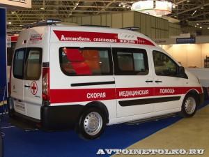 автомобиль скорой помощи класс А на базе Citroen Jumpy Промышленные Технологии на выставке Здравоохранение 2014 img_7134