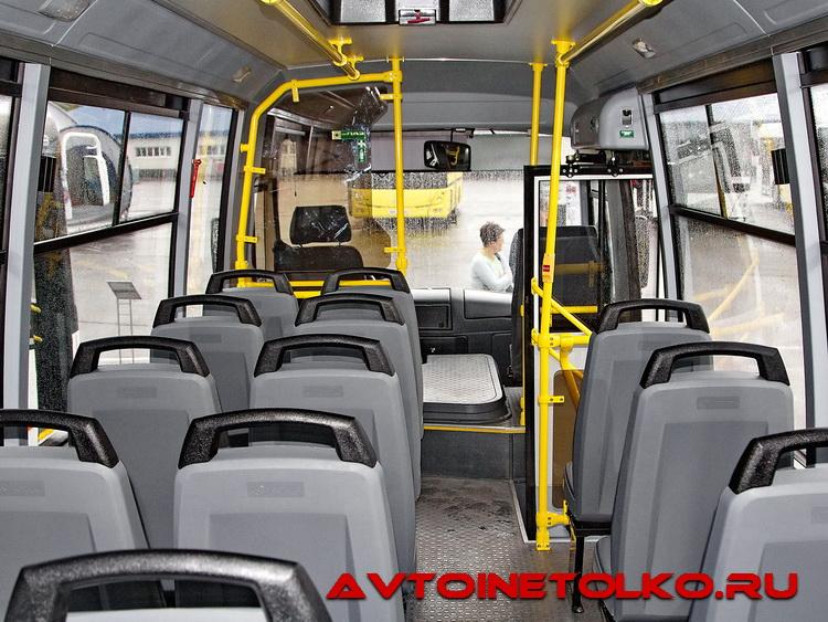 автобус вектор паз фото салона