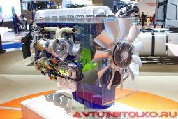 Двигатель Volvo D13 на выставке COMTRANS 2017