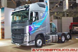 Volvo FH 6х2 на выставке COMTRANS 2017