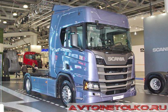 SCANIA R500 A4X2NA на выставке COMTRANS 2017