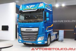 DAF XF480 FT Super Space Cab на выставке COMTRANS 2017