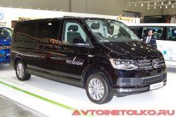 Volkswagen Caravelle Exclusive lwb на выставке COMTRANS 2017