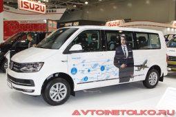 Volkswagen Caravelle Comfortline lwb на выставке COMTRANS 2017