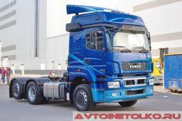 Седельный тягач КАМАЗ-65209-S2 на выставке COMTRANS 2017