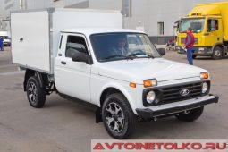 ЛАДА 4х4 фургон на выставке COMTRANS 2017