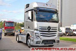 Mercedes-Benz Actros 1848LS на выставке COMTRANS 2017