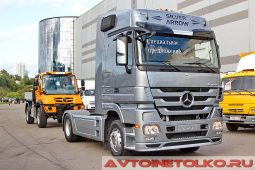 Mercedes-Benz Actros 1844LS на выставке COMTRANS 2017